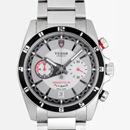 チュードル Tudor腕時計コピー グランツアークロノ フライバック 3列ブレス グレー 20550N