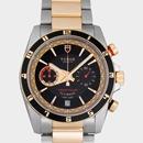 チュードル Tudor腕時計コピー グランツアークロノ フライバック 3列ブレス ブラック20551N