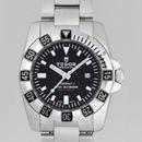 チュードル Tudor腕時計コピー ハイドロノートII3列ブレス レディース ブラック 24030