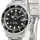 チュードル時計コピー プリンスデイト サブマリーナ 自動巻き時計 ブラック 75190