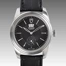 チュードル時計コピー グラマーダブルデイト自動巻き ブラック?57000