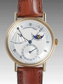 ブレゲ 時計人気 Breguet 腕時計 クラシック パワーリザーブ ムーンフェイズ 7137BA/11/9V6